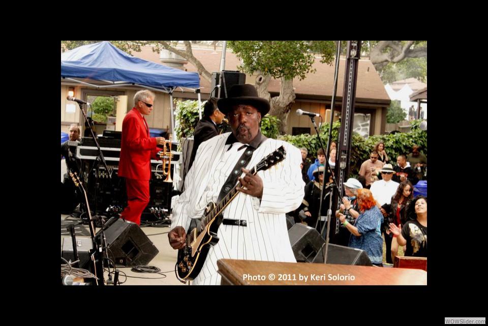 Monterey Blues Festival 2011 - Payton Garden Stage